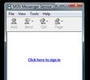 MSN Messenger 3.0.0286