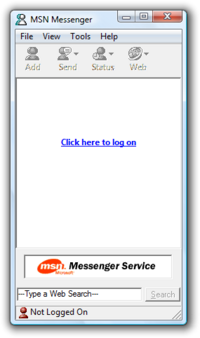 MSN Messenger 1.0.0.863