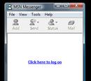 MSN Messenger 2.0.0085