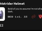 Nightstrider Helmet