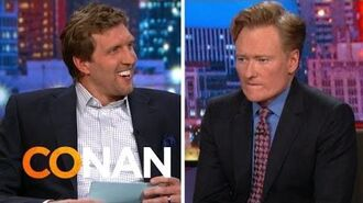 Dirk Nowitzki Gives Conan The Texas Citizenship Test