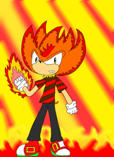 Fire Arm the hedgehog