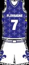 Basketball Uniform Flovaigne