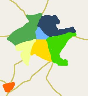 Map beloquinto bairros