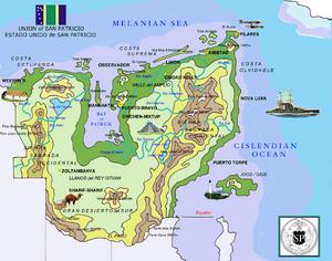 Sanpatricio map Historical