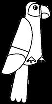 Katikati Parrot Blank