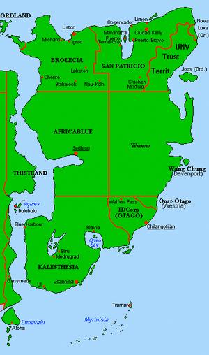 Mauretanian War Postmap