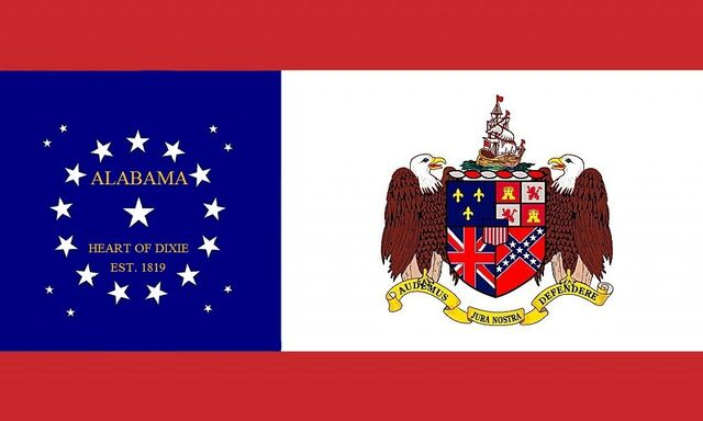 File:Alabama State Flag Proposal 22 Star Heart of Dixie State Flag Designed By Stephen R Barlow 732014.jpg