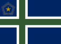 Maine State Flag Proposal No 5 Designed By Stephen Richard Barlow 27 OCT at 0223hrs cst