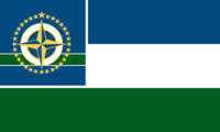 Minnesota State Flag 32 Star Proposal No 6 By Stephen Richard Barlow 02 NOV 2014 at 1048hrs cst