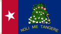 Alabama State Flag NOLI ME TANGERE Proposal Designed By Stephen Richard Barlow 10 FEB 2015 at 0901 HRS CST.png