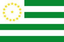 Flag of Caquetá