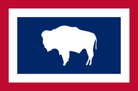 Wyoming New Flag