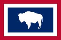 Wyoming New Flag