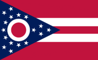 Ohio State Flag Proposal No. 7 Designed By Stephen Richard Barlow 29 AuG 2014 at 1152hrs cst