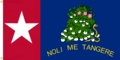 Alabama Republic NOLI ME TANGERE (Touch Me Not) Flag (c) Large Star Version Designed By Stephen Richard Barlow 09 FEB 2015 at 0305 HRS CST..png