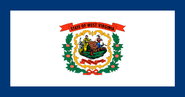 Current flag of West Virginia