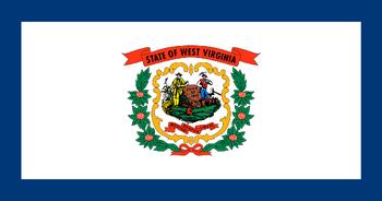 Current flag of West Virginia