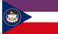 Utah State Flag Proposal No. 2 Designed By Stephen Richard Barlow 13 MAY 2015 at 0709 HRS CST