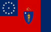 Massachusetts State Flag Proposal No 3 Designed By Stephen Richard Barlow 13 AuG 2014 at 1501hrs cst