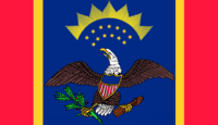 North Dakota State Flag Proposal No 6 Designed By Stephen Richard Barlow 20 AuG 2014 at 1659hrs cst
