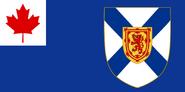 Nova Scotia flag proposal 1 (good quality)