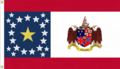 Alabama State Flag Proposal Designed By Stephen Richard Barlow 13 FEB 2015 at 1125 HRS CST Based on a Design of Nicola Marschall of Montgomery Alabama in 1861.png