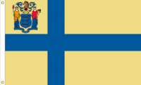 New Jersey State Flag Proposal No. 2a Designed By Stephen Richard Barlow 10 JAN 2015 at 1234 HRS CST