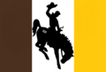 Wyoming State Flag Proposal No 7 Designed By Stephen Richard Barlow 08 OCT 2014 at 1036hrs cst.png