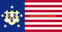 Connecticute State Flag Proposal No 5 Designed By Stephen Richard Barlow 16 AuG 2014 at 1013hrs cst