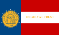 Georgia State Flag Proposal No 4 Designed By Stephen Richard Barlow 25 AuG 2014 at 1519hrs cst