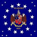 ALABAMA STATE FLAG Canton 1819 Coat of Arms Proposal Designed By Stephen Richard Barlow.jpg