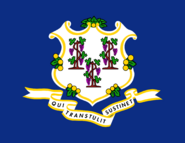 Current flag of Connecticut