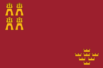 Flag of Region of Murcia