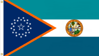 Florida State Flag Proposal No. 6c Designed By Stephen Richard Barlow 14 JAN 2015 at 1312 HRS CST.