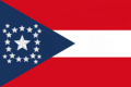 Alabama State Flag Proposal New Stars and Bars Constellation (E) Designed By Stephen Richard Barlow 12 NOV 2014 at 0739 hrs cst.png