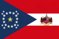 Alabama State Flag Proposal New Stars and Bars with C o A (d) Designed By Stephen Richard Barlow 7 DEC 2014 at 1611 hrs cst.png