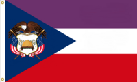 Utah State Flag Proposal No. 3 Designed By Stephen Richard Barlow 13 MAY 2015 at 0935 HRS CST
