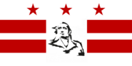 Washington DC Flag Proposal No 1 Designed By Stephen Richard Barlow 16 AuG 2014 at 1629 HRS CST