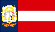 Georgia State Flag 1906-1920