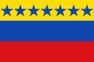 Flag of Venezuela 1859