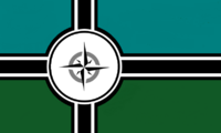 Michigan State Flag Proposal No 2 Designed By Stephen Richard Barlow 14 OCT 2014 at 1144hrs cst
