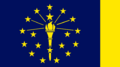 Indiana State Flag Proposal No 1 Designed By Stephen Richard Barlow 18 AuG 2014 at 1313hrs cst.png