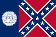 Georgia State Flag 1956-2001