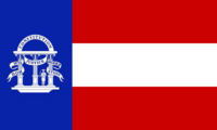 Georgia State Flag Proposal No 11 Designed By Stephen Richard Barlow 25 AuG 2014