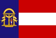 Georgia State Flag 1902-1906