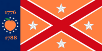 Georgia State Flag Proposal No 20g Designed By Stephen Richard Barlow 25 NOV 2014 at 0605 hrs cst