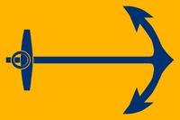 Proposal Flag of Rhode Island orange