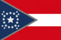 Alabama State Flag Proposal New Stars and Bars Constellation (D) Designed By Stephen Richard Barlow 12 NOV 2014 at 0737 hrs cst.png