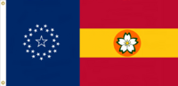 Florida State Flag Proposal No. 1b Designed By Stephen Richard Barlow 13 JAN 2015 at 1526 HRS CST.